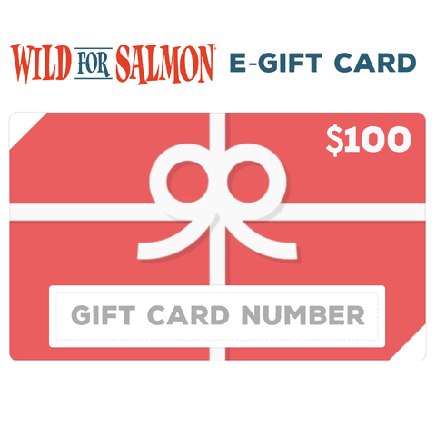 Wild For Salmon E-Gift Card