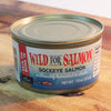 Canned Wild Caught Sockeye Salmon