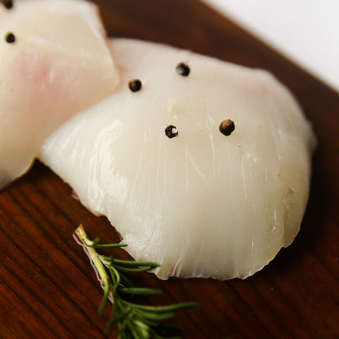 Alaska Halibut Cheeks 8oz- 4 packs