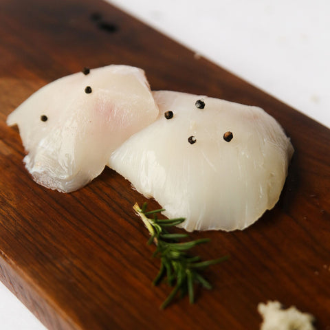Wild Caught Alaska Halibut Cheeks