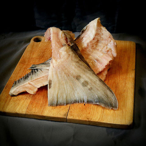 Alaska Halibut Stock Bones- 4lbs