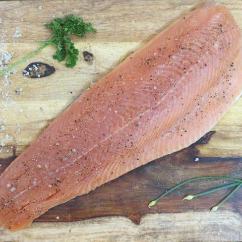 Keta Salmon Fillets - Whole Keta fillets shipped
