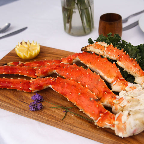 2.2lb Large Alaska Red King Crab Cluster