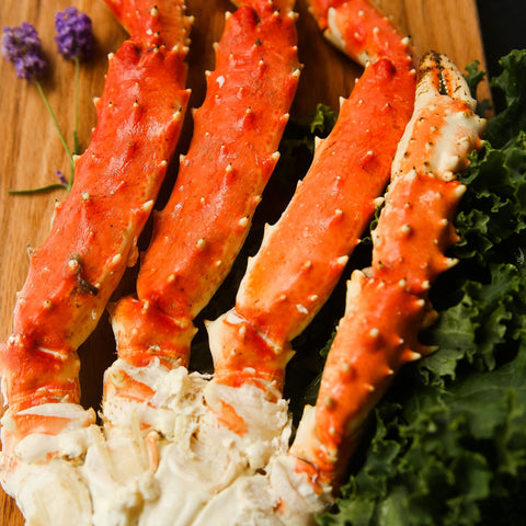 Alaska Large Red King Crab Clusters- 2.2lb