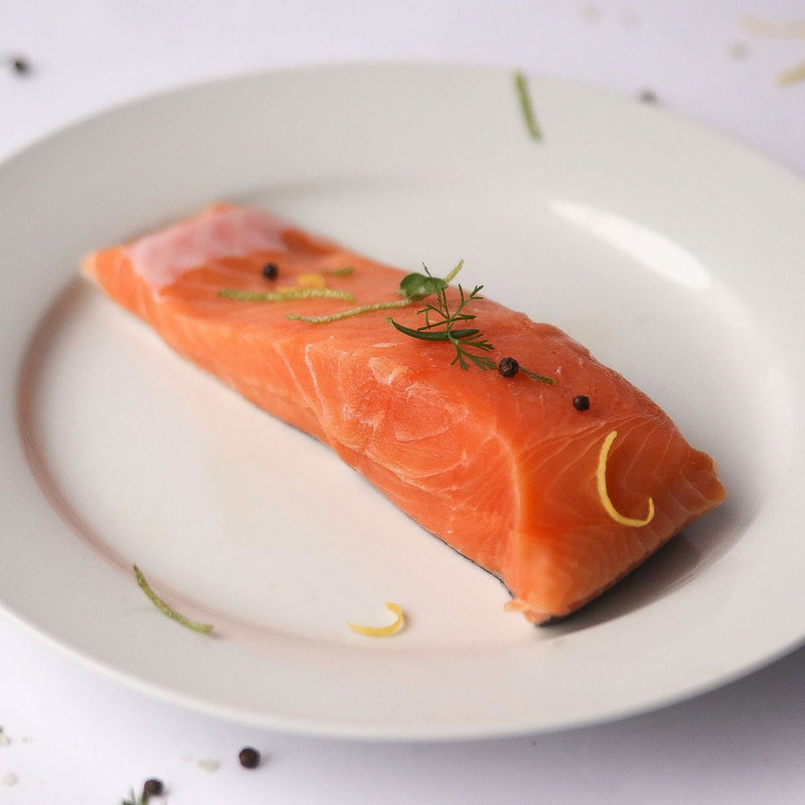 Wild Caught King Salmon Portions