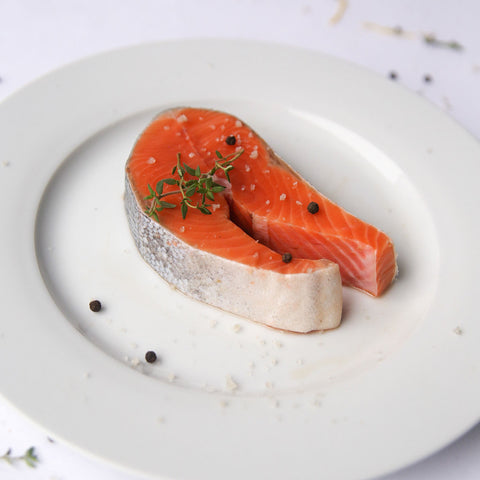 Alaskan King Salmon Steaks