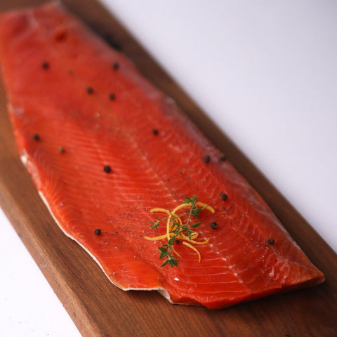 Alaska Wild Caught Sockeye Salmon Fillet