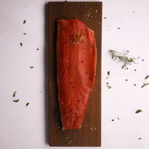Wild Caught Sockeye Salmon Fillet