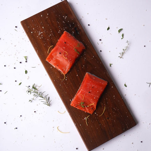 Wild Caught Sockeye Salmon Portions