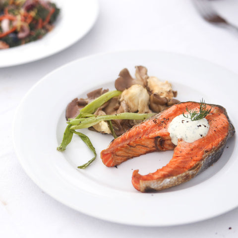 Alaska Sockeye Salmon Steak