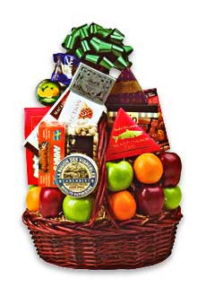Large Fruit & Cheese Basket