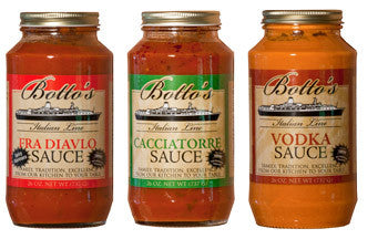 Botto's Homemade Specialty Sauces 5 Jars
