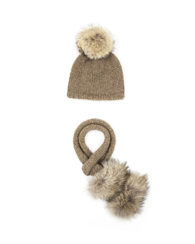 Constance Hat and Scarf Set