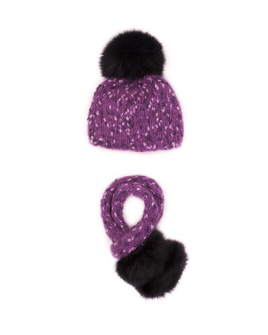 Paulette Hat and Scarf Set