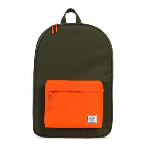 Herschel Classic Backpack - Forest Night/Vermillion Orange