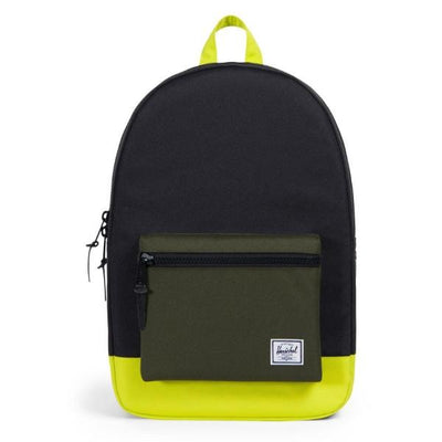 Herschel Settlement Backpack - Black/Forest Night/Evening Primrose