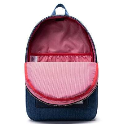 Herschel Settlement Backpack - Faded Denim/Indigo Denim