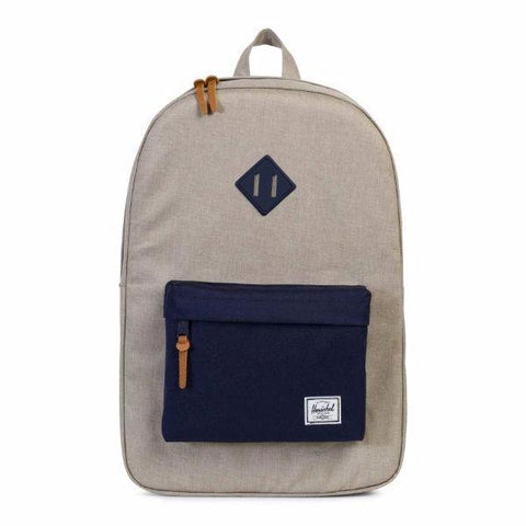 Herschel Heritage Backpack - Light Khaki Crosshatch