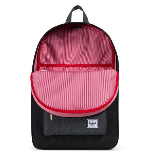 Herschel Heritage Backpack - Black / Black Denim Offset Collection
