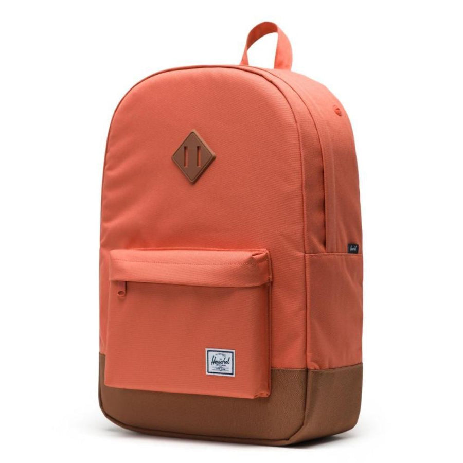 Herschel Heritage Backpack - Apricot Brandy/Saddle Brown