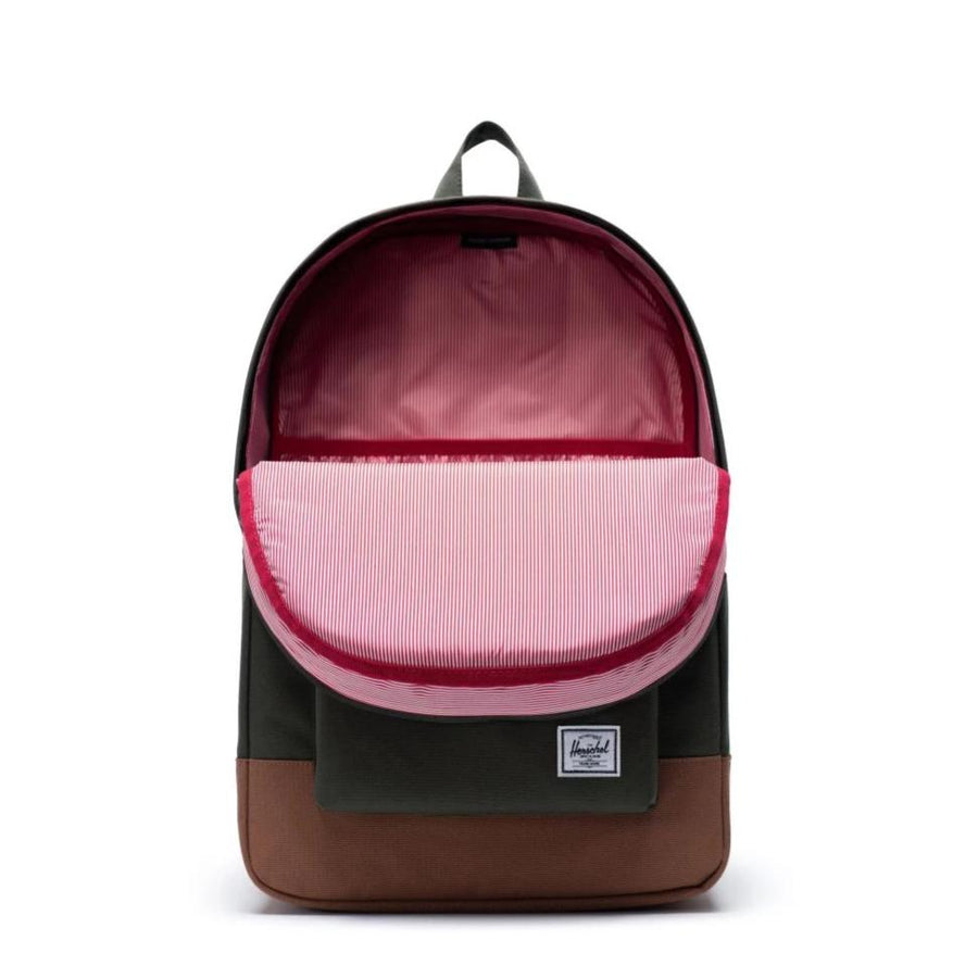 Herschel Heritage Backpack - Dark Olive/Saddle Brown