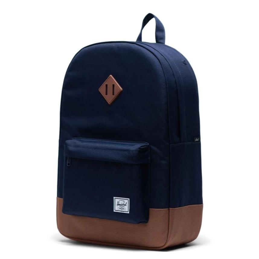 Herschel Heritage Backpack - Peacoat/Saddle Brown