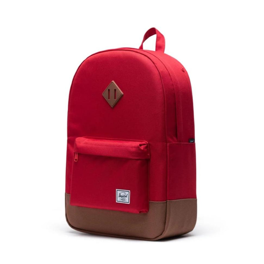 Herschel Heritage Backpack - Red/Saddle Brown