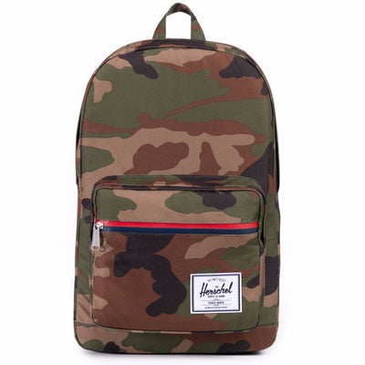 Herschel Pop Quiz Backpack - Woodland Camo/Multi Zip