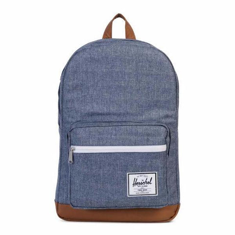 Herschel Pop Quiz Backpack - Dark Chambray Crosshatch