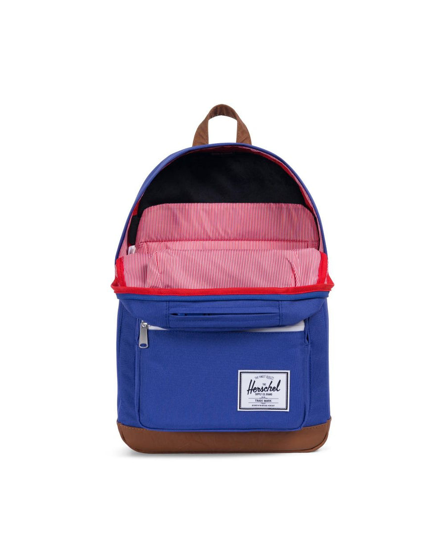 Herschel Pop Quiz Backpack - Deep Ultramarine/Tan