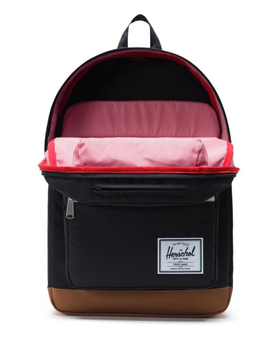 Herschel Pop Quiz Backpack - Black/Saddle