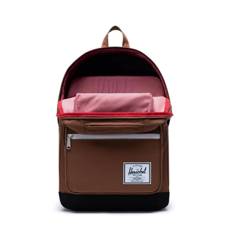 Herschel Pop Quiz Backpack -Saddle Brown/Black