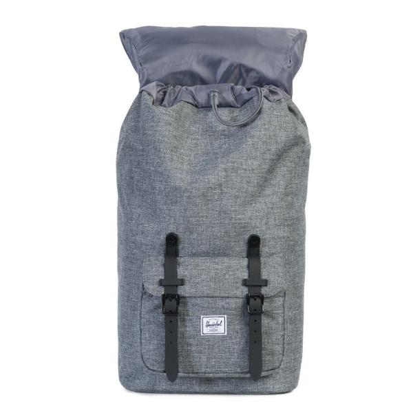 Herschel Little America Backpack - Raven Crosshatch / Black