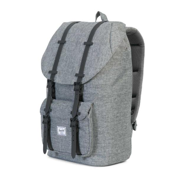 7b2868ca3940 Herschel Little America Backpack - Raven Crosshatch   Black - Chane