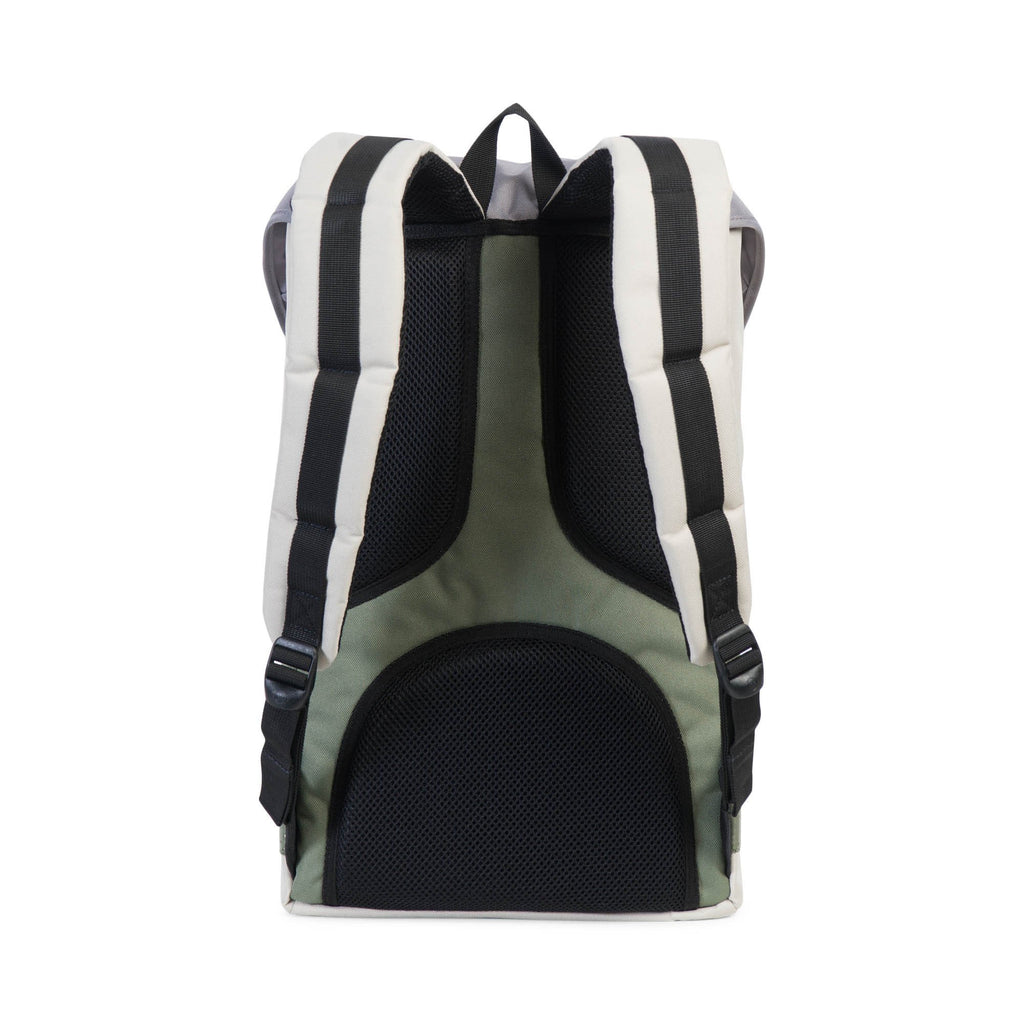 Herschel Little America Backpack - Pelican/Deep Lichen Green/Black