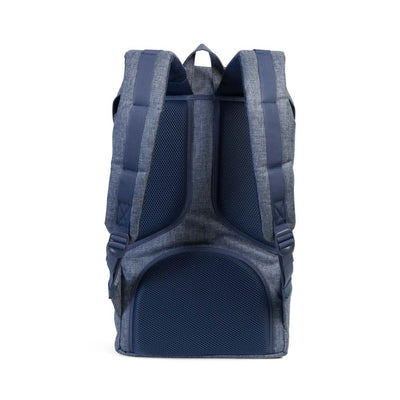 Herschel Little America Backpack - Dark Chambray Crosshatch