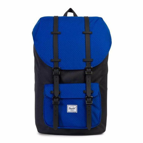 Herschel Little America Backpack - Black/Surf the Web