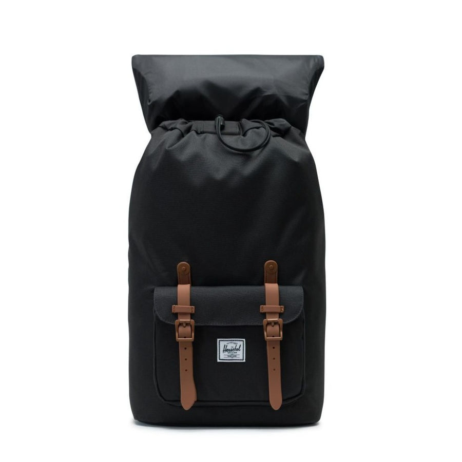 Herschel Little America Backpack - Black/Saddle Brown