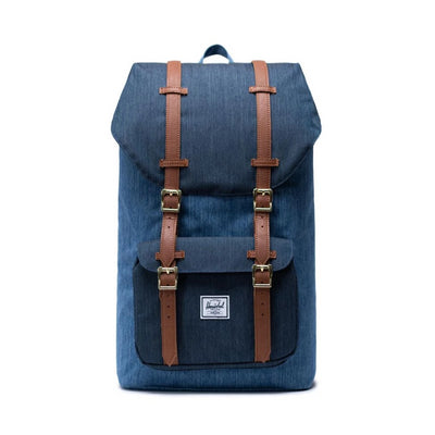 Herschel Little America Backpack - Faded Indigo/Indigo Denim