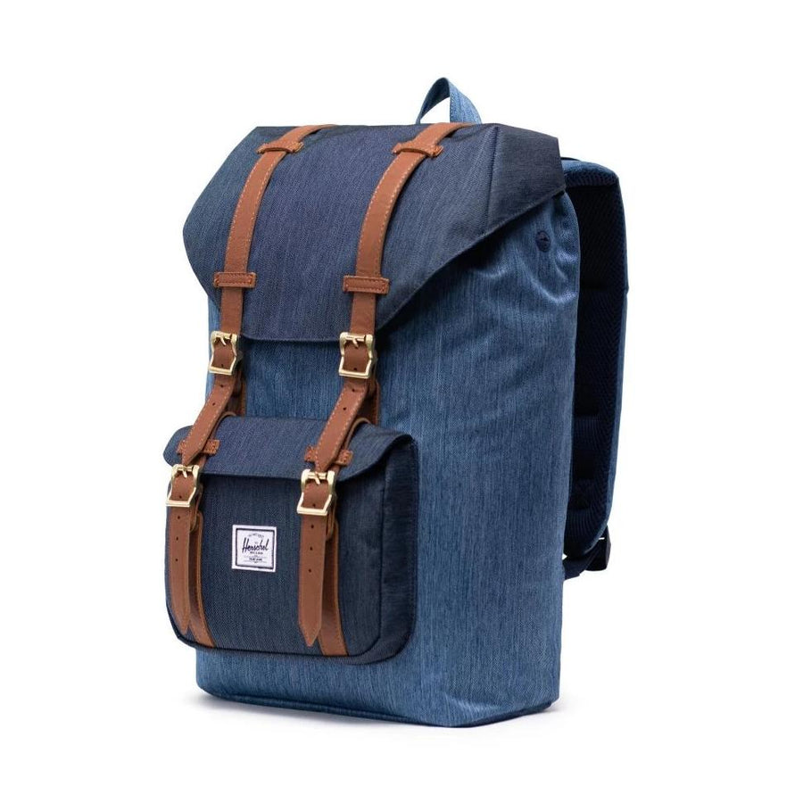 Herschel Little America Backpack - Faded Denim/Indigo Denim