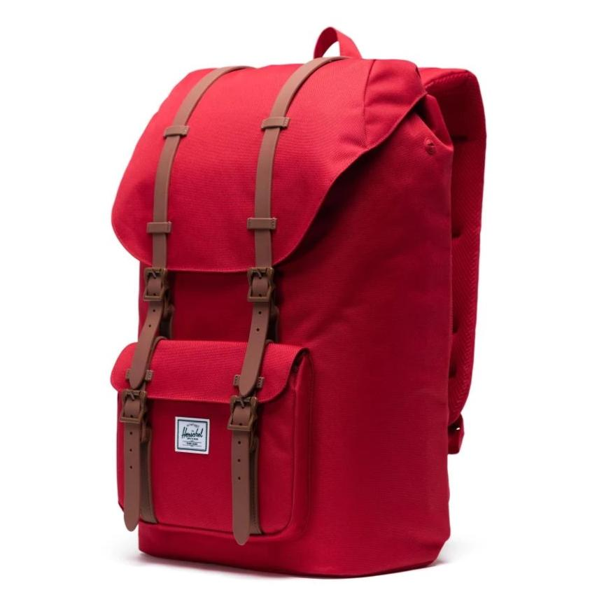Herschel Little America Backpack - Red/Saddle Brown
