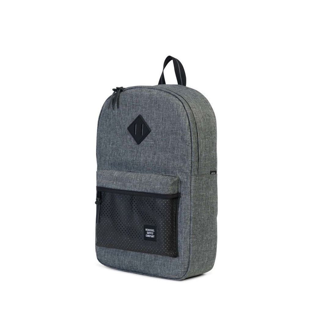 Herschel Heritage Backpack - Raven Crosshatch - Aspect Collection