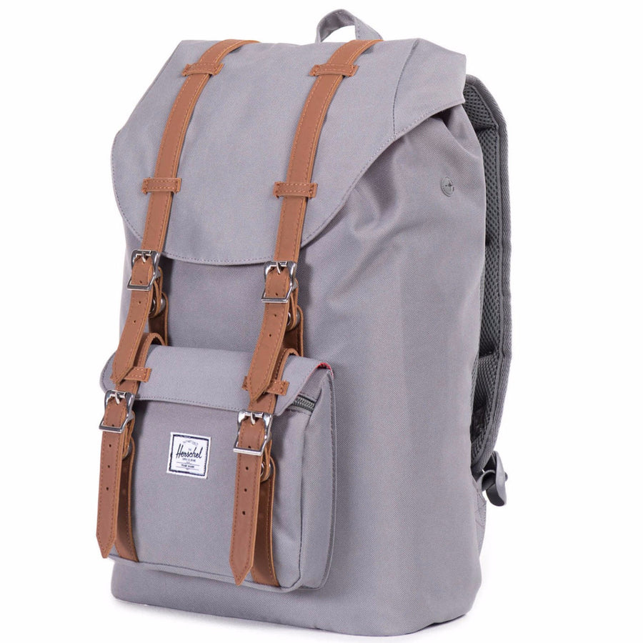 Herschel Little America Mid-Volume Backpack - Grey/Tan