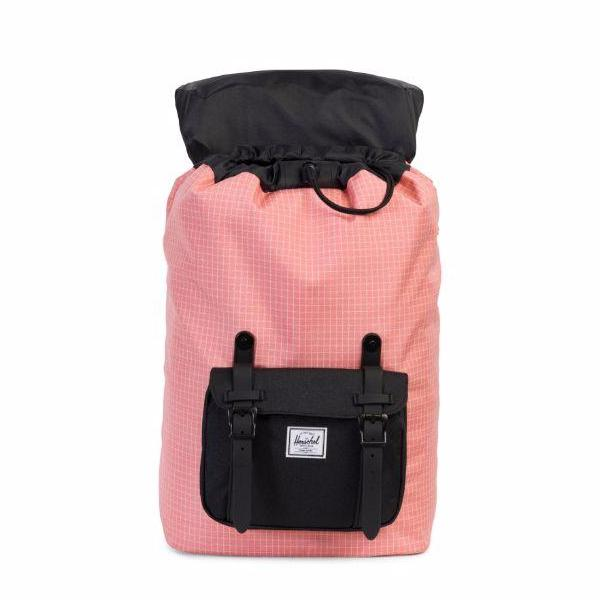 Herschel Little America Mid-Volume Backpack - Strawberry Ice Grid/Black