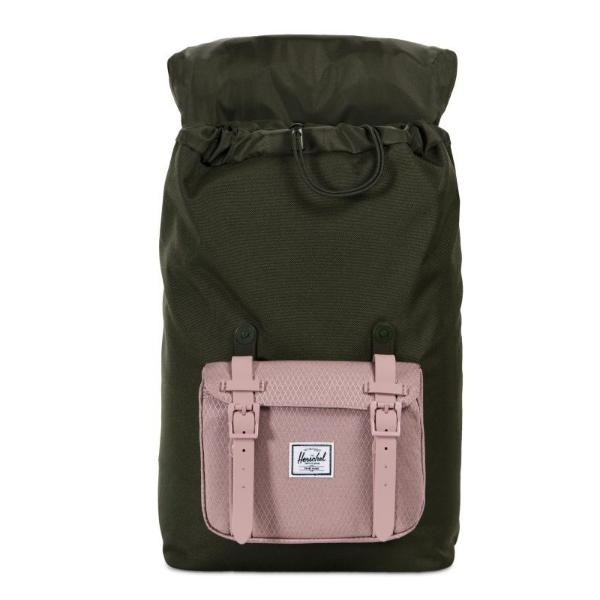 Herschel Little America Mid-Volume Backpack - Forest Night / Ash Rose