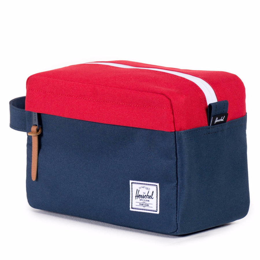 Herschel Chapter Travel Bag - Navy/Red