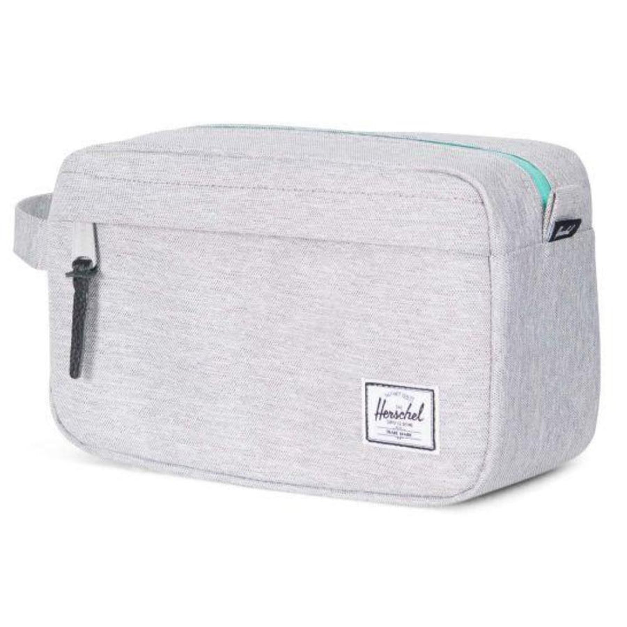 Herschel Chapter Travel Bag - Light Grey Crosshatch