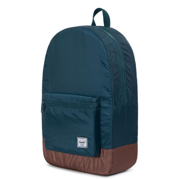 Herschel Packable Daypack - Deep Teal/Tan