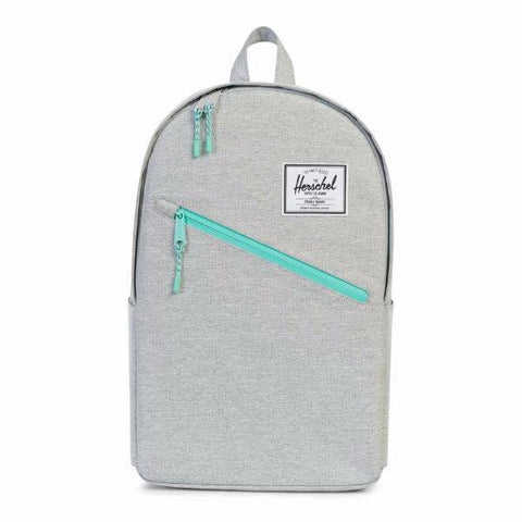 Herschel Parker Backpack - Light Grey Crosshatch/Lucite Green