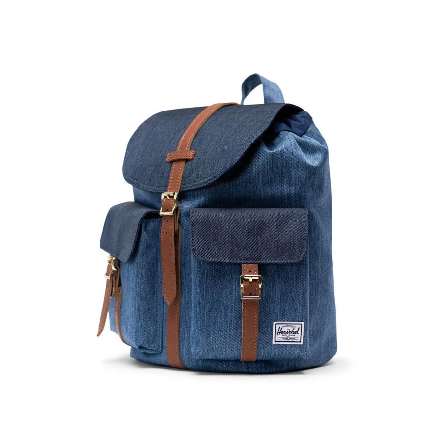 Herschel Dawson Backpack Small - Faded Denim/Indigo Denim